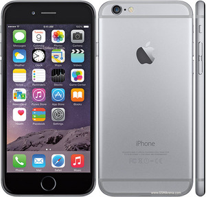 אייפון 6 - Apple iPhone 6 64GB SimFree Black