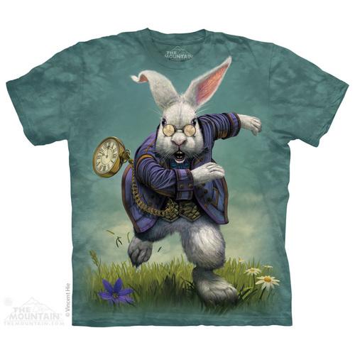 The Mountain חולצה קצרה בהדפס מלא - White Rabbit