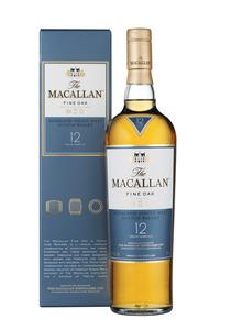 """וויסקי Macallan Fine Oak 12 - מקאלן פיין אוק 12 700 מ""""ל"""