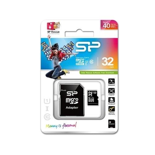 כרטיס זיכרון SiliconPower 32GB SD Card