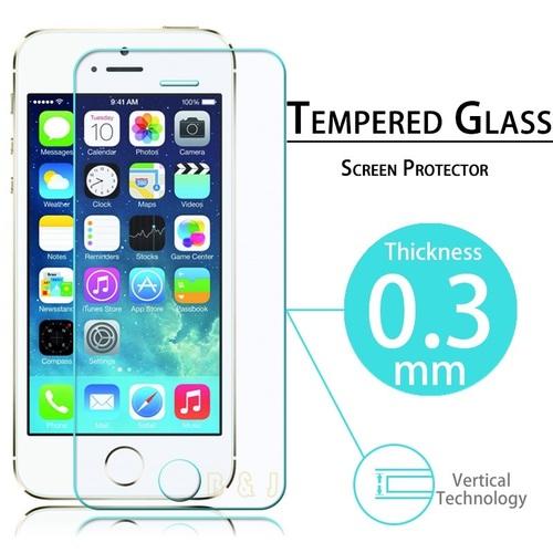 מגן מסך זכוכית (נגד שברים) IPHONE 5\5S