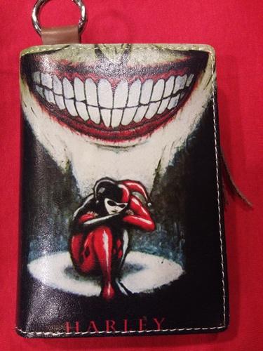 Chun And Dahl ארנק עור - Harley Quinn 904