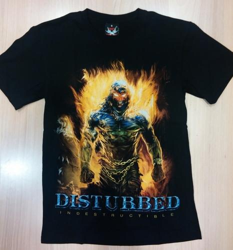 Disturbed חולצה קצרה - Indestructible