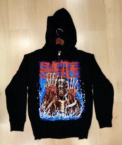 Suicide Silence קפוצון זיפר/רוכסן - Scream ZIP