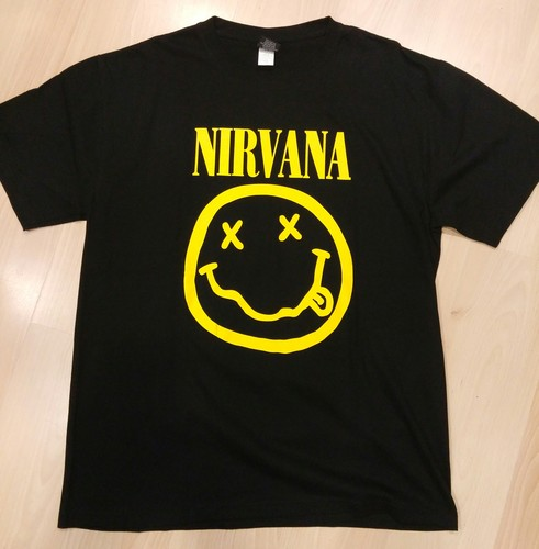 Nirvana חולצה קצרה - Smiley