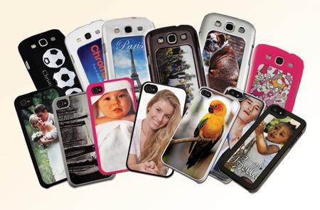 כיסוי מגן לטלפון נייד עם הדפסת תמונה אישית