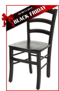 BLACK FRIDAY כסא עץ COUNTRY