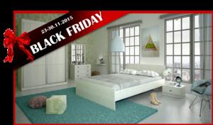 BLACK FRIDAY חדר שינה ARISTO עם ארון הזזה