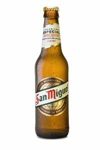 """רבעיית בירה San Miguel - סאן מיגל 330 מ""""ל (4 בקבוקים)"""