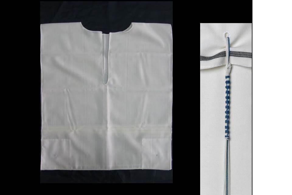 Wool White Stripe Rambam