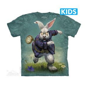 The Mountain חולצה קצרה בהדפס מלא - White Rabbit Kids