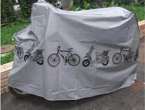כיסוי אופניים עשוי ניילון אטום למים לשמירה והגנה על אופניים, אופניים חשמליים וכדומה.