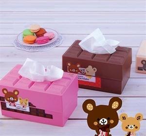 מתקן דקורטיבי למפיות נייר, טישיו ומגבונים בצורת טבלת שוקולד שובבה!