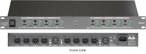 SDA208 מגבר הפצה  D/A Soundking