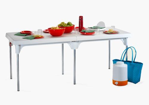 שולחן מתקפל דגם שיר - כתר פלסטיק