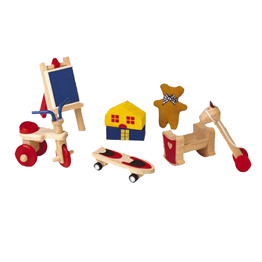 משהו רציני אביזרי משחק לבית בובות מעץ ענטל - - משחקים וצעצועים LR-64