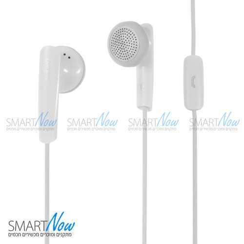 אוזניות וואווי מקוריות כולל מיקרופון בצבע לבן מבית Huawei