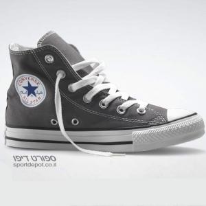 נעלי אולסטאר גבוהות 210793 ALL STAR HI CHARCOAL