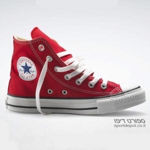 נעלי אולסטאר גבוהות ALL STAR HI RED