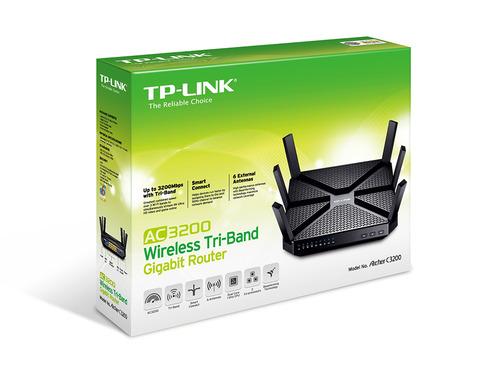 ראוטר נתב TP-Link Archer C3200 AC3200 Tri-Band Gigabit 3200Mbps