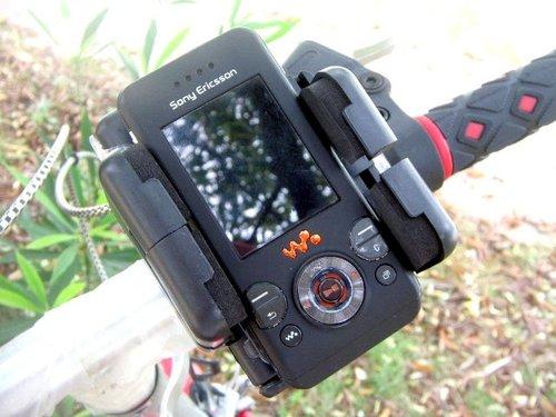 מעמד לפלאפון או GPS לכידון האופניים