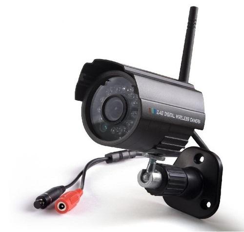 מצלמת אבטחה אלחוטית דיגיטלית ומתאם