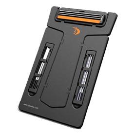 מכשיר גילוח בגודל כרטיס אשראי