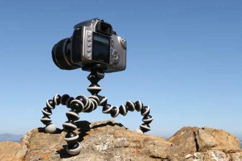 חצובת מצלמה מקצועית גמישה וגדולה
