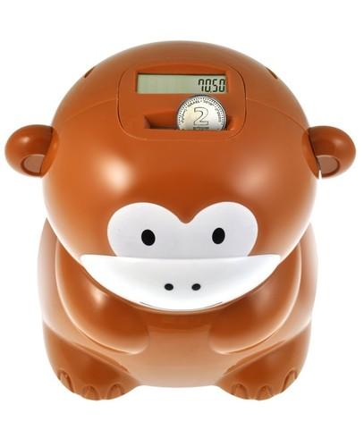 קופת חסכון סופרת בצורת קוף