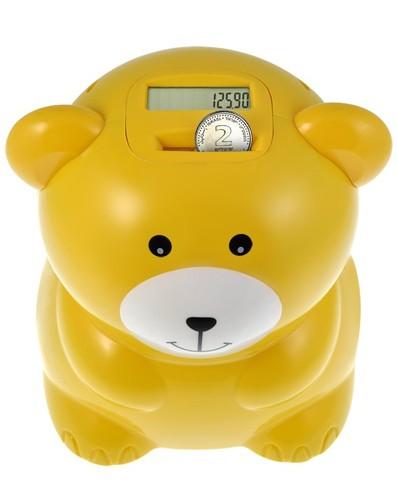קופת חסכון סופרת בצורת דובי