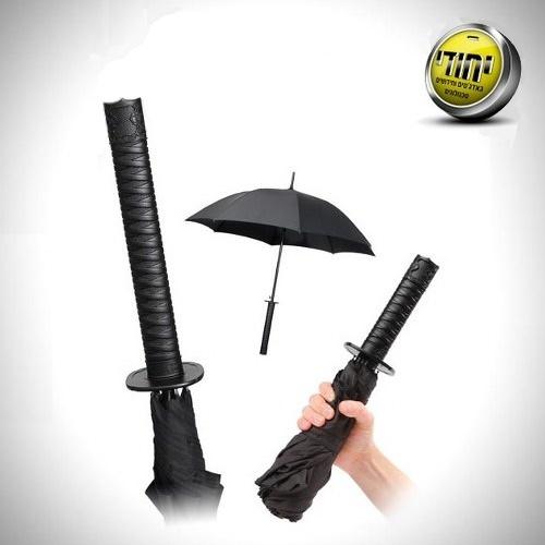מטרייה בעיצוב חרב סמוראי