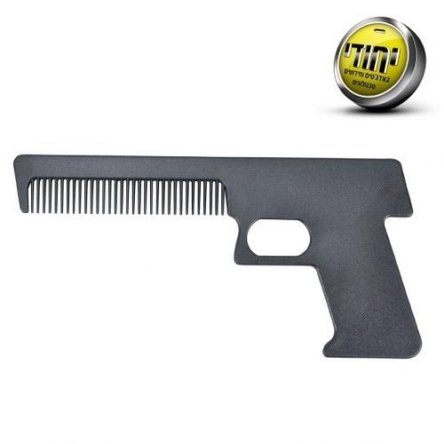 מסרק שיער בצורת אקדח