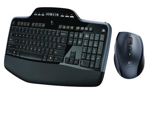 מקלדת ועכבר Logitech Wireless Desktop MK710