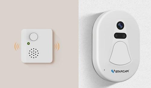פעמון דלת עם חיבור wifi