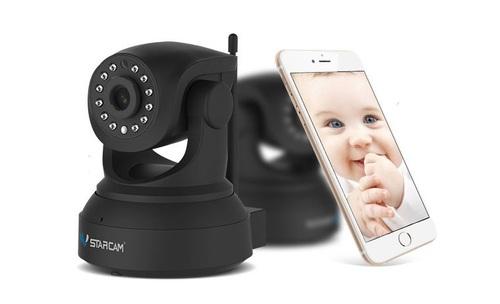 מצלמת אבטחה WIFI באיכות של 2MP,התקנה תוך 5 דקות