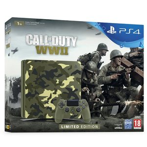 PS4 SLIM 1T Call of Duty: WWII Limited Edition Bundle Sony