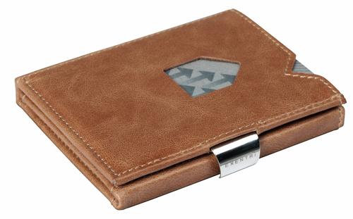 עולם שלם בארנק קטן פאר היצירה הנוורוגית ארנק עור לגבר EXENTRI BROWN