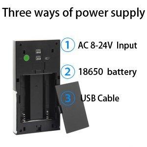 מגניב ביותר פעמון דלת Wi-Fi מצלמת HD ואינטרקום iSeems - iSeems - מצלמות אבטחה UL-69