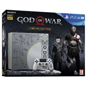 PS4 PRO 1T God OF War Limited Edition Bundle Sony