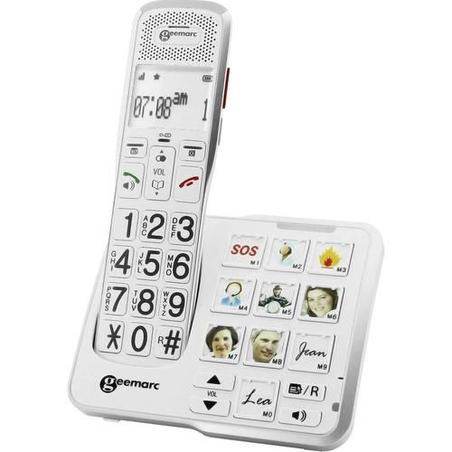 מודיעין טלפון אלחוטי מוגבר geemarc amplidect 595 - geemarc - מוצרים לכבדי XS-88