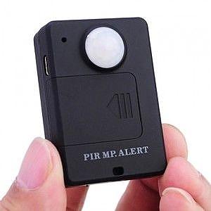 מכשיר האזנה עם גלאי נפח ואזעקה סלולרית