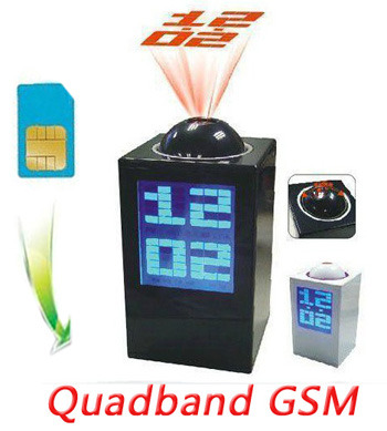 מכשיר האזנה בשעון הולוגרמה עם סים