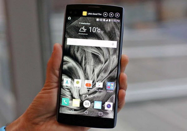 ביקורת מכשיר – LG V10