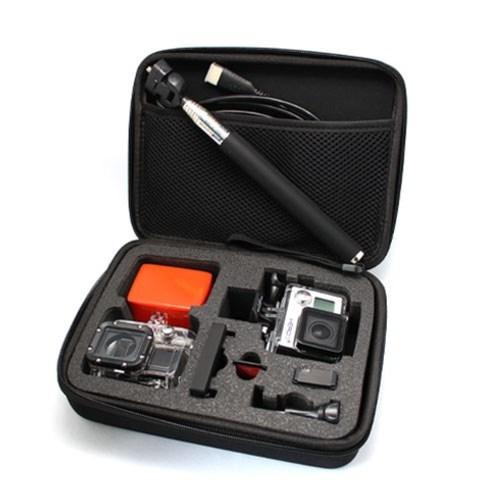 תיק נשיאה למצלמת גופרו ואביזרים 2/3/4 GoPro Hero :21 x 16 x 6.5cm