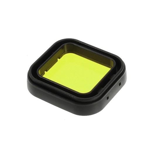 פילטר צהוב לצילום מתחת למים בצלילה למצלמת למצלמת גופרו 2/3/4 GoPro Hero