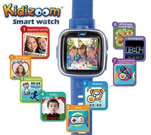 הגדול שעון חכם Vtech עם מסך מגע, מצלמה ומשחקים Kidizoom Smartwatch NG-11