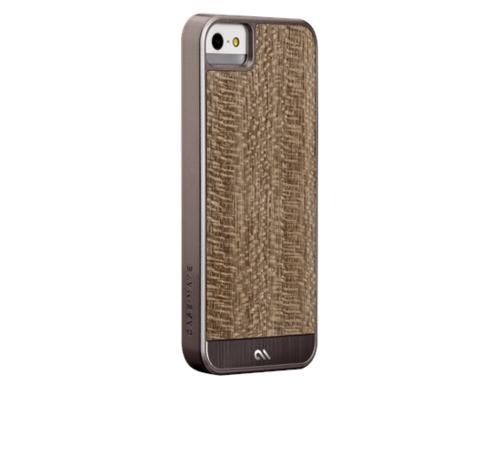 Case-Mate Woods iPhone 5s - Grey Leopardwood