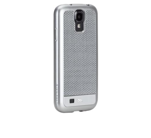 Case-Mate Carbon Fiber  Galaxy S4 - Argento Silver