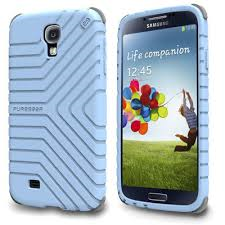 GripTek Galaxy S4 Powder Blue