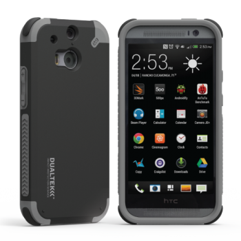 DualTek Black HTC ONE M8